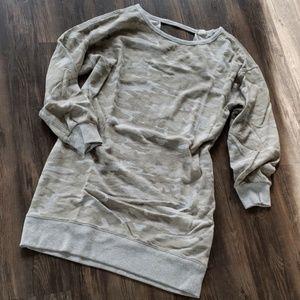 Gap Camo sweatshirt dress